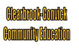 Clearbrook-Gonvick Community Education